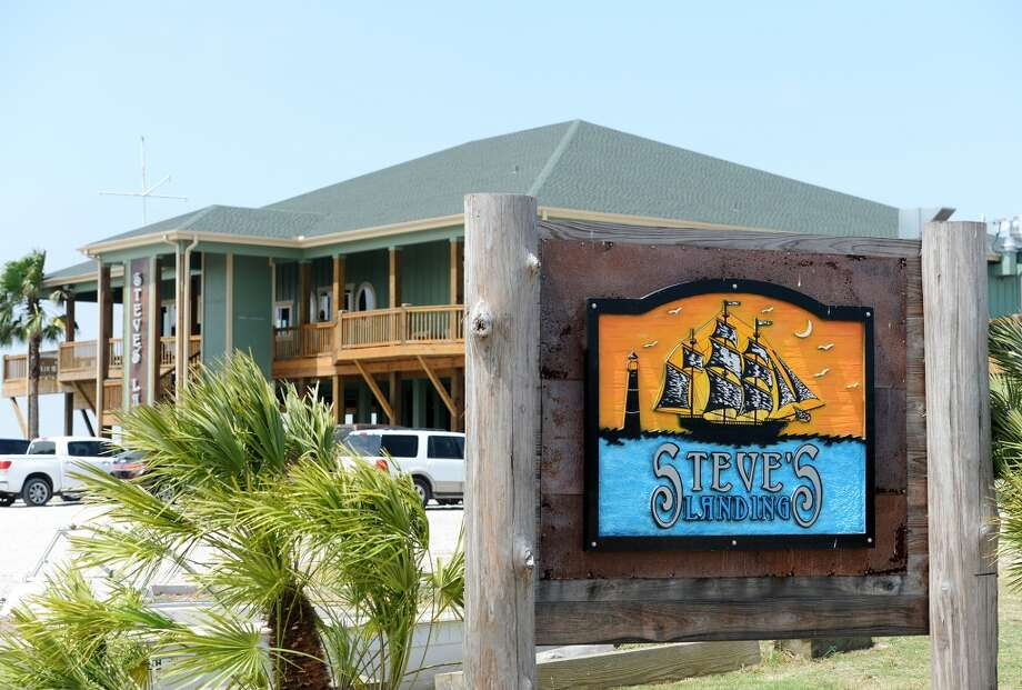 Pictured is the outside of Steve's Landing on Bay Vue Road. Crystal Beach and the Bolivar Peninsula is home to several quality restaurants and bars. Photo taken Saturday 5/10/14 Jake Daniels/@JakeD_in_SETX