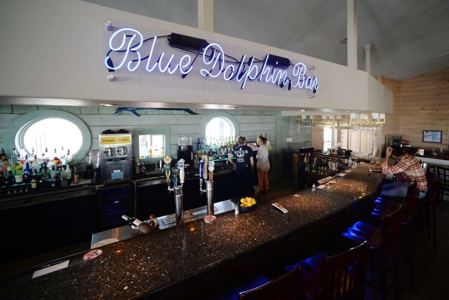Pictured is the Blue Dolphin Bar at Steve's Landing on Saturday afternoon. Crystal Beach and the Bolivar Peninsula is home to several quality restaurants and bars. Photo taken Saturday 5/10/14 Jake Daniels/@JakeD_in_SETX