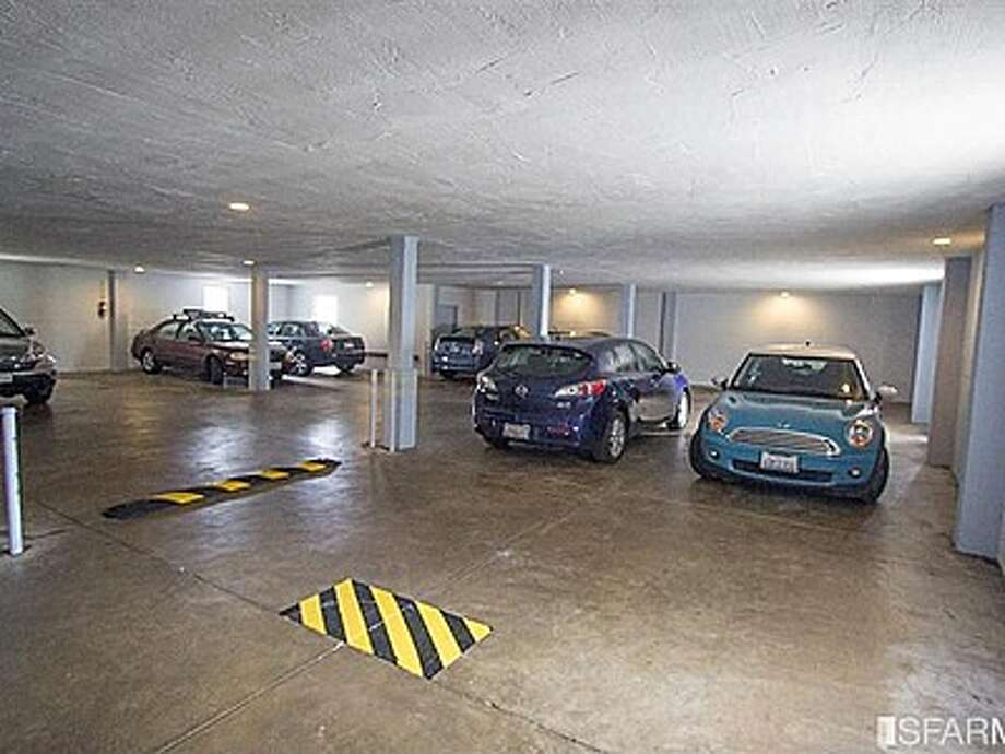 The garage has parking for 17 cars and a motorcycle. Photo: MLS