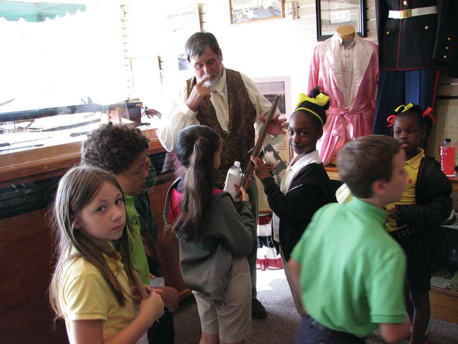 Parnell Students enjoying their time at the Jasper County Historical Museum Photo by Jeff Reedy