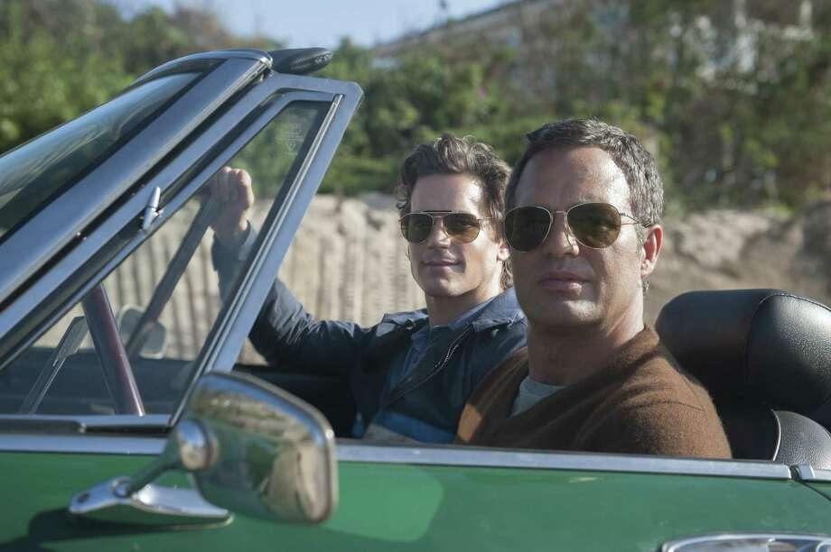 """Matt Bomer, left, and Mark Ruffalo star in """"The Normal Heart"""" on HBO. Photo: Jojo Whilden, HO / MCT"""