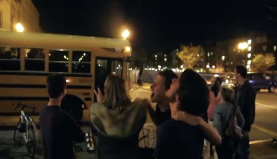 A still from the Night School YouTube promotional video. Photo: YouTube