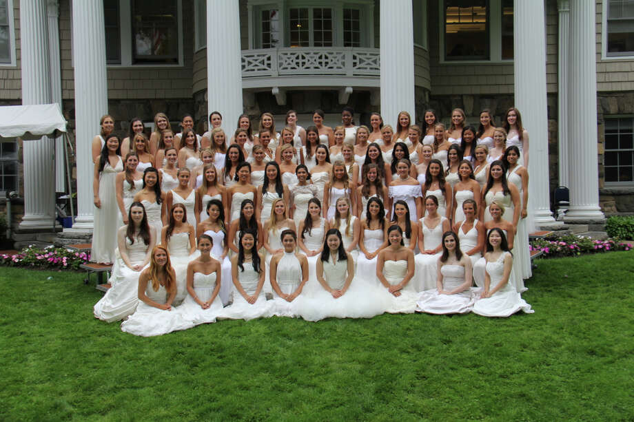 The Greenwich Academy Class of 2014. Photo: Greenwich Academy