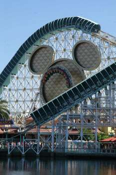 The roller coaster is in Disneyland's California Adventure Park. Photo: Peter Bischoff, Getty / 2008 Getty Images