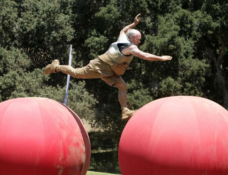 Wipeout  - Sunday, June 22 on ABC Photo: ADAM LARKEY, AP