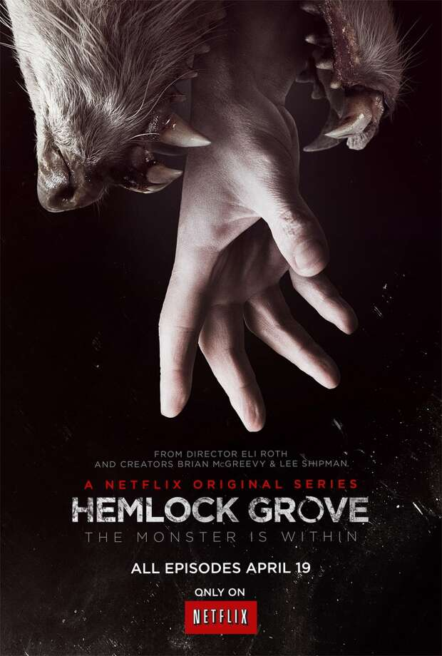 Hemlock Grove - Friday, July 11 on Netflix Photo: Courtesy Photo