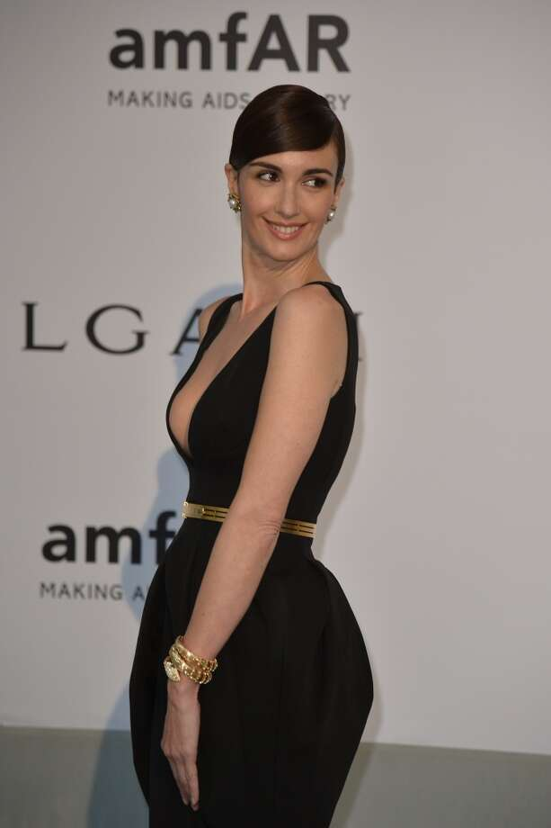 Spanish actress Paz Vega poses as she arrives for the amfAR 21st Annual Cinema Against AIDS during the 67th Cannes Film Festival at Hotel du Cap-Eden-Roc in Cap d'Antibes, southern France, on May 22, 2014. Photo: ALBERTO PIZZOLI, AFP/Getty Images