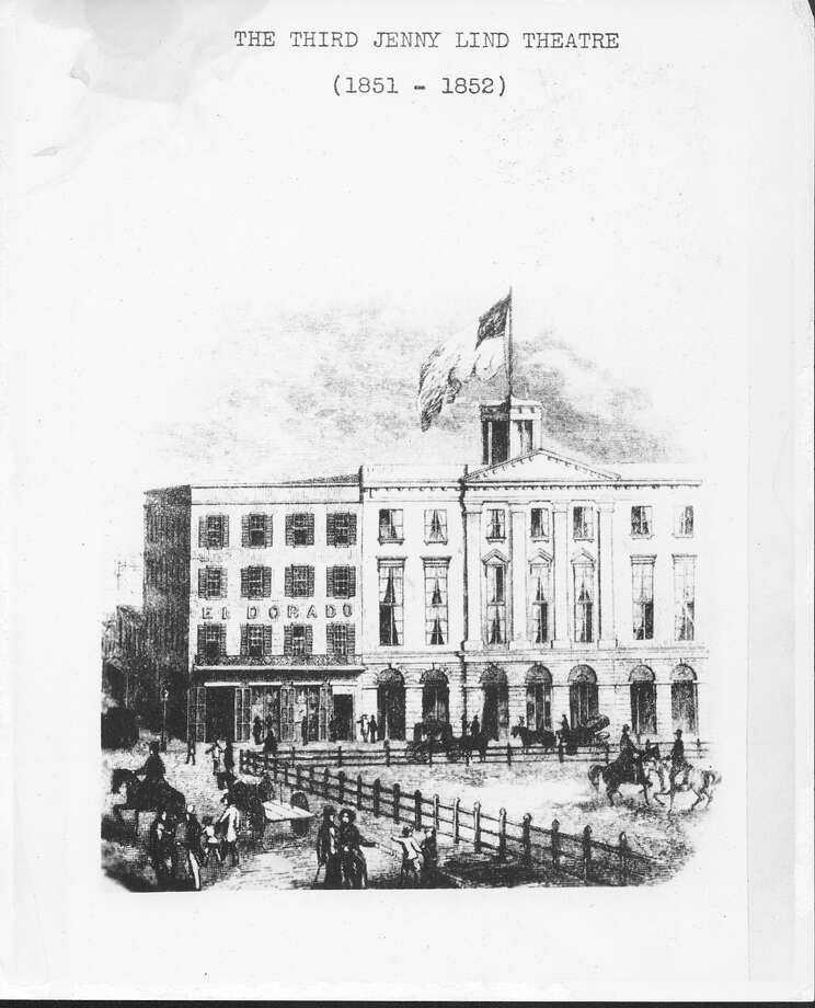 The  Third Jenny Lind theater 1851-52