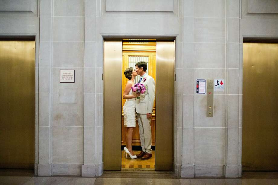 Alex McDonald and Kristin Kelly, Nob Hill, San Francisco
