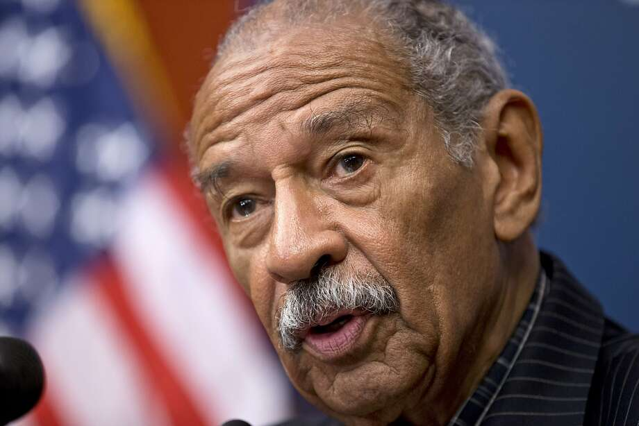 Rep. John Conyers, D-Mich., had been disqualified due to problems with his nominating petitions. Photo: J. Scott Applewhite, Associated Press