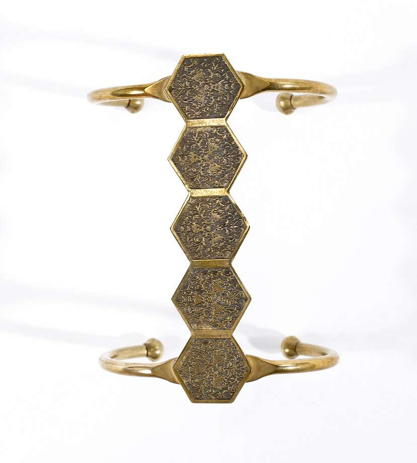 A bracelet by Annachich Jewelry is seen on Friday, May 16, 2014 in San Francisco, Calif. Photo: Russell Yip, The Chronicle