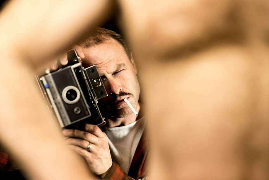 "Brian Livingston is Sam Steward, a gay man who kept a record of his sexual experiences, in ""Homo File"" at CounterPulse. Photo: Mark McBeth"
