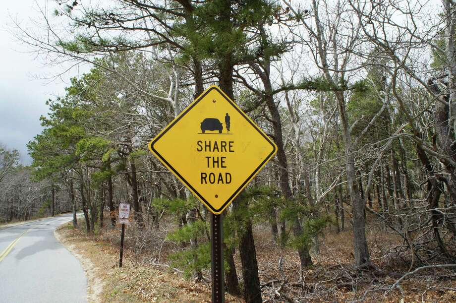 Photo by Herb Terns. Cape Cod makes cyclists welcome, on bike trails and on the road.