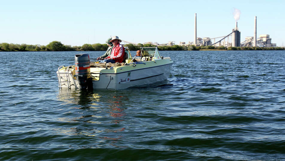 Calaveras freshwater water stained black bass are fair for Fishing near san antonio
