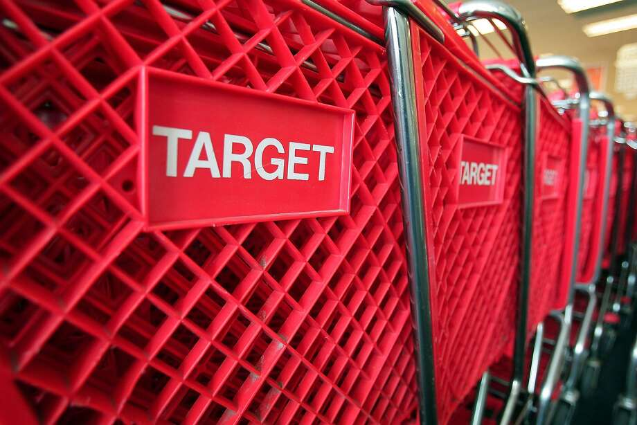 Despite a big data breach, Target's stock didn't fall until after the company cut its earnings forecast. Photo: Scott Olson, Getty Images