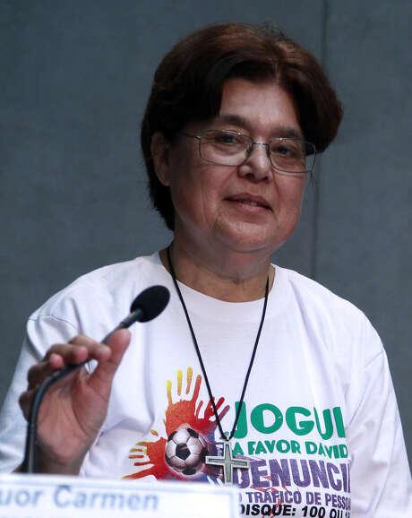 Sister Carmen Sammut is the head of the International Union of Superior Generals. Photo: Associated Press / AP