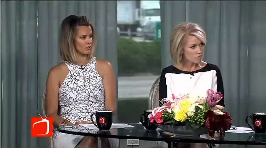 "Amy Kushnir, a Dallas morning show anchor for BroadcastTV,expressed some negative comments about NFL defensive end Michael Sam's on-air kiss with his boyfriend upon hearing the St. Louis Rams had drafted him. She promptly stormed off her set during a discussion, sparking public outcry and a spot on CNN anchor Anderson Cooper's ""The Ridiculist"" segment. Photo: BroadcastTV"