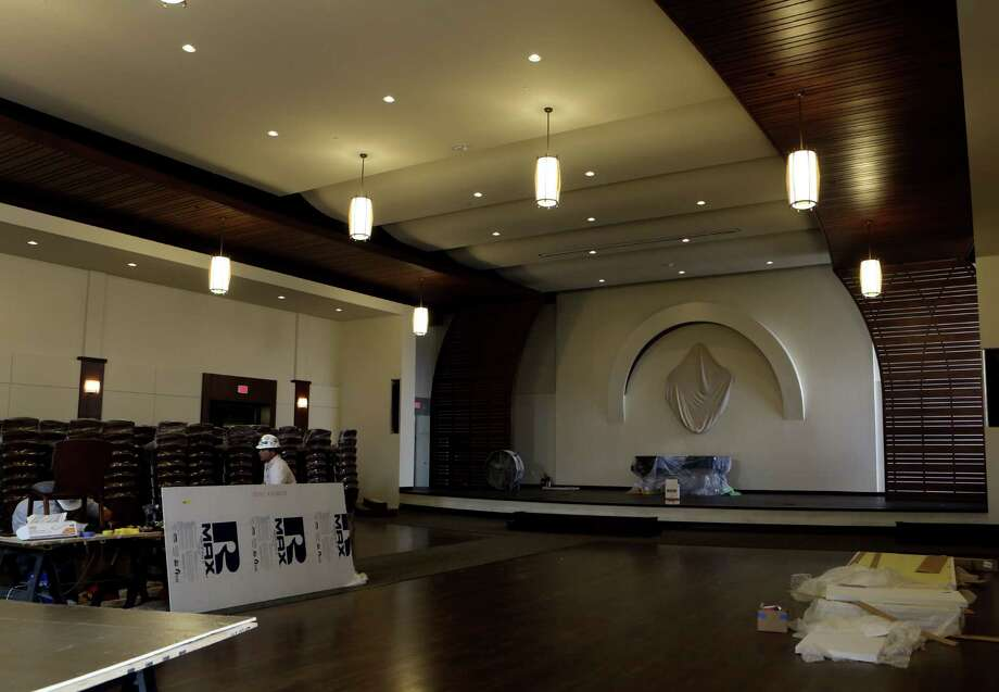 Riding a wave of downtown redevelopment, Redeemer Presbyterian Church is preparing for its first services in its new home, the former YMCA building at 903 N. St. Mary's St., on Sunday. Photo: Photos By Helen L. Montoya / San Antonio Express-News / ©2014 San Antonio Express-News