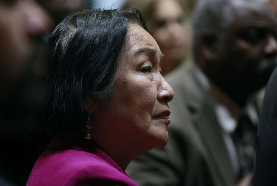 Oakland Mayor Jean Quan was not injured in the accident. Photo: Paul Chinn, The Chronicle