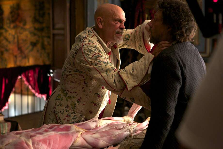 "CROSSBONES -- ""Pilot""  -- Pictured: (l-r) John Malkovich as Blackbeard, Richard Coyle as Tom Lowe Photo: Francisco Roman, NBC"