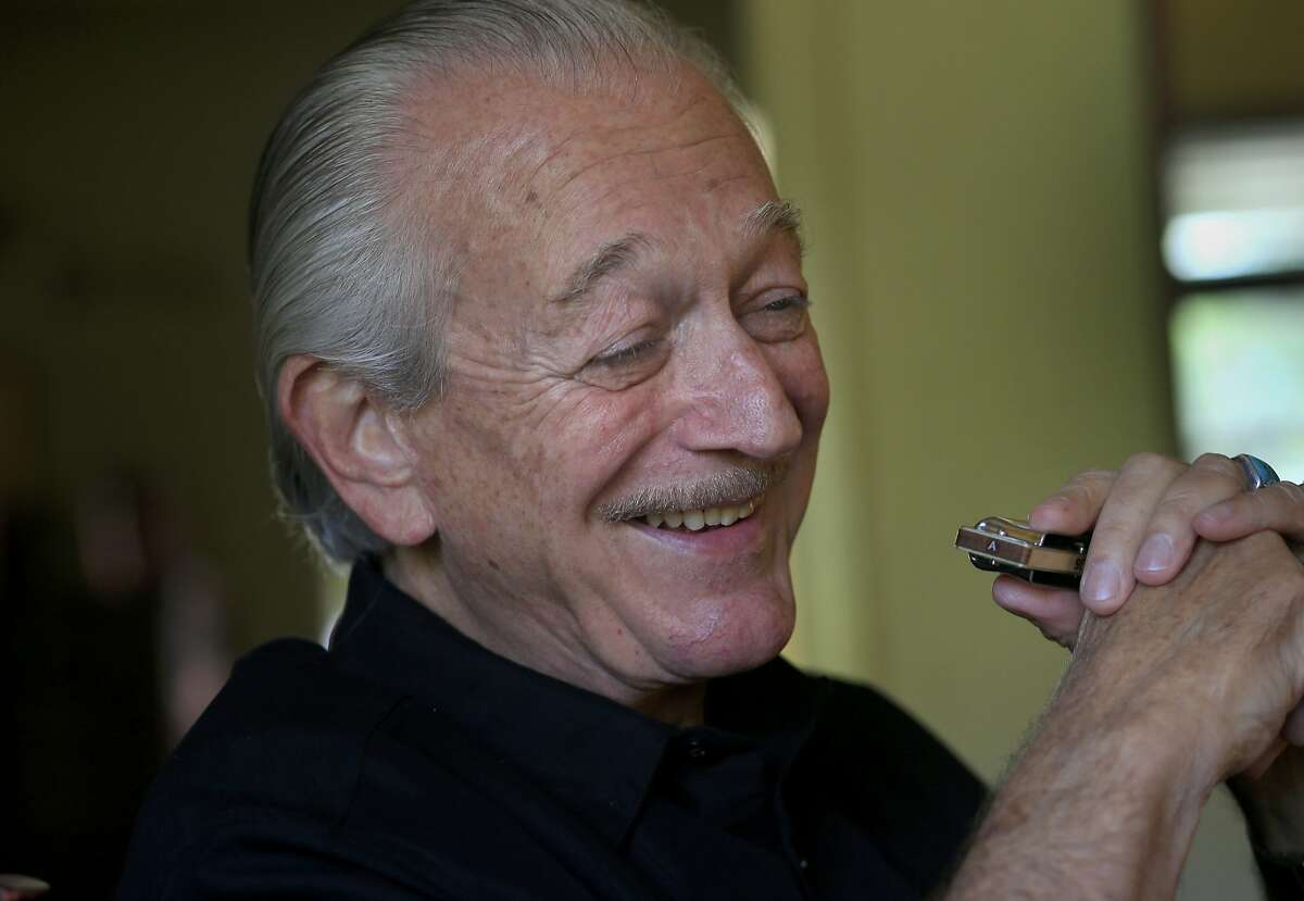 Charlie Musselwhite still loves to practice and innovate with his Seydel harmonicas at his home Thursday May 22, 2014. Blues great Charlie Musselwhite is anchoring the upcoming Healdsburg Jazz Festival.