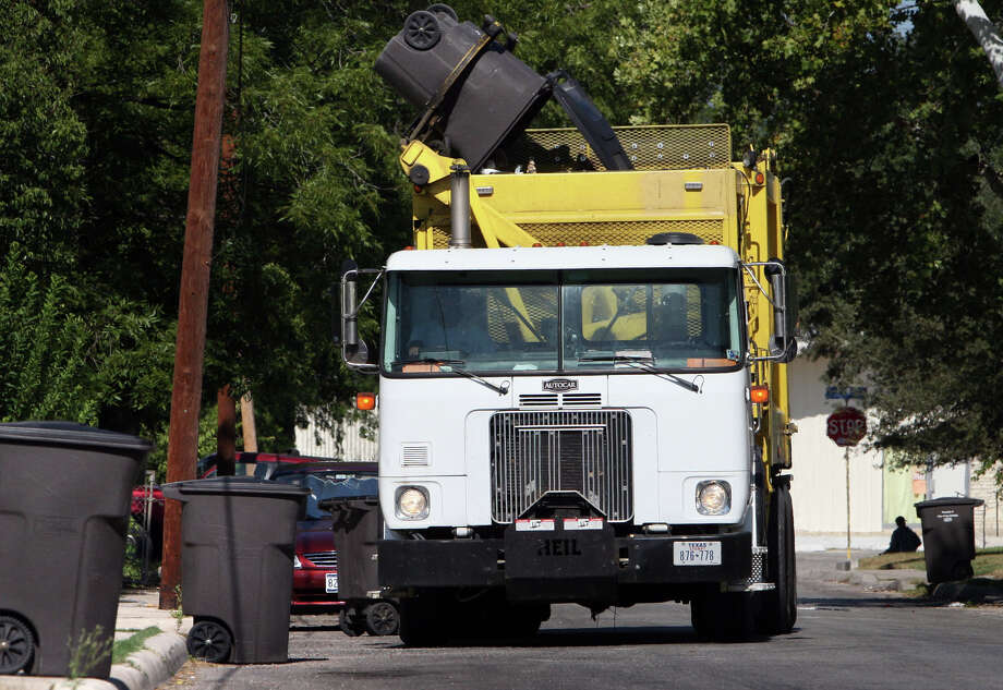 Click ahead to see what's open and what's closed on the Fourth of JulyGarbage - will be collected  Photo: Bob Owen, San Antonio Express-News / San Antonio Express-News