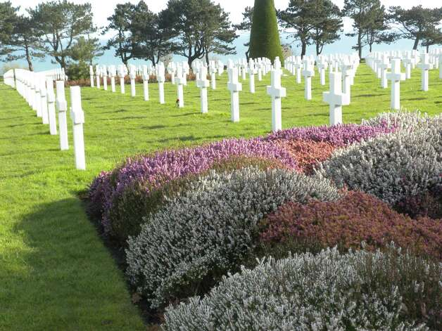 As we approach Memorial Day, I wanted to share this photo which I took on a recent trip to the Normandy American Cemetery and Memorial between the Utah and Omaha beaches in France.  The 9,387 precisely aligned headstones mark the graves of service members who gave their lives that others might be free. (Janice Jaskolka Golden)