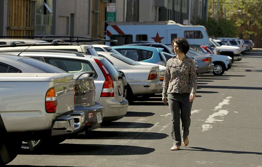 San Francisco has more than 442,000 parking spaces, according to the Municipal Transportation Agency parking census released last week. Photo: Michael Macor, The Chronicle