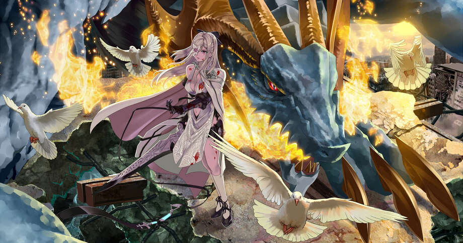 "The human adult playing ""Drakengard 3"" becomes Zero, an Intoner whose goal is to kill her five sisters, and get as bloodied as possible in the process. Photo: Photos Courtesy Of Square Enix"