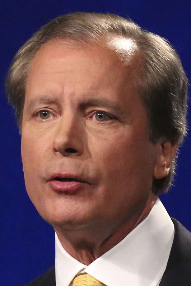 Lt. Gov. David Dewhurst, though the incumbent, was a distant second in the March primary. / AP