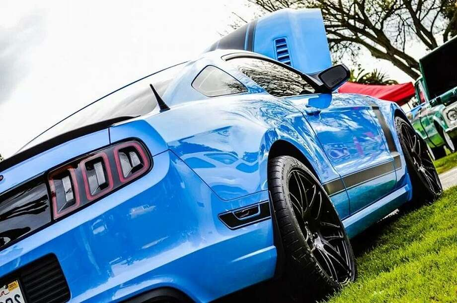 One of the Ford Mustangs that will be on display at the Goodguys summer show at the Alameda County Fairgrounds May 31 and June 1. (Photo: Paul Hannigan.)