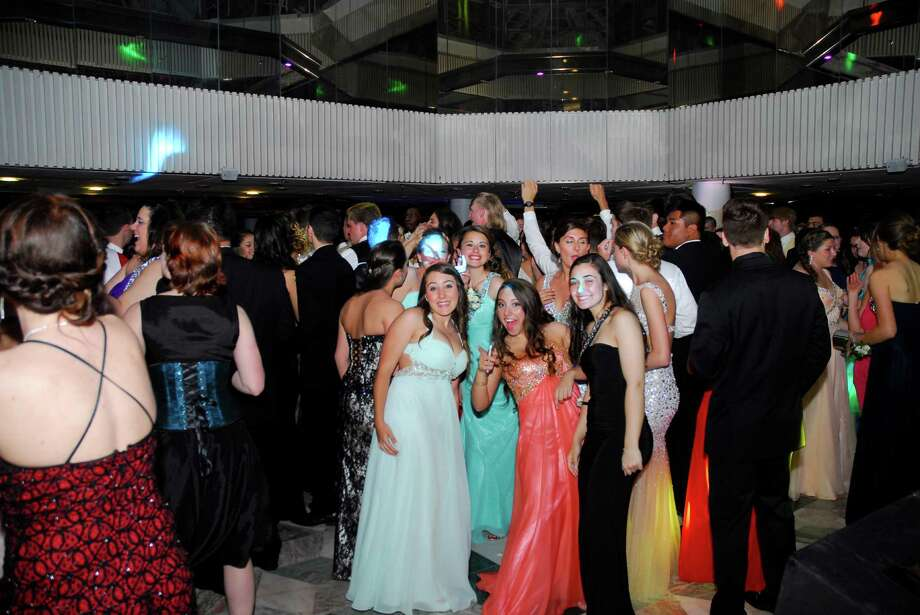 "Danbury High School seniors went back in time for a night to the ""Last night on the Titanic."" The themed prom was held Friday, May 23 at the Matrix Center in Danbury. Photo: Michael Witkowski"