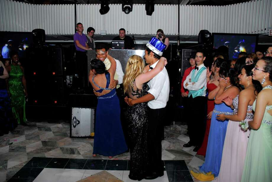 """Danbury High School seniors went back in time for a night to the """"Last night on the Titanic."""" The themed prom was held Friday, May 23 at the Matrix Center in Danbury. Photo: Michael Witkowski"""