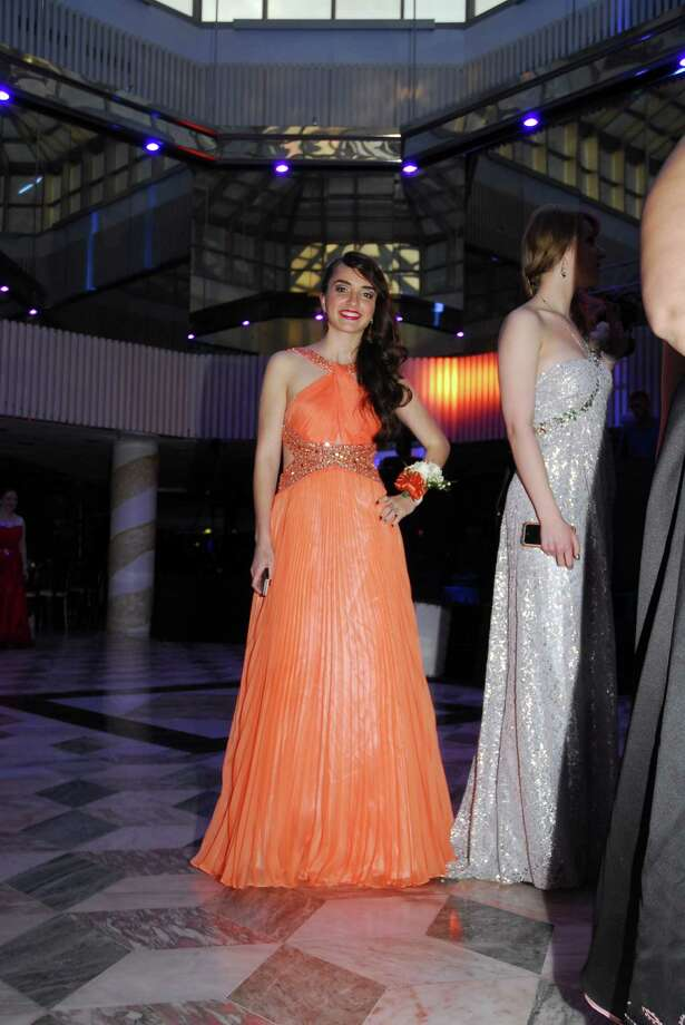 "Danbury High School seniors went back in time for a night to the ""Last night on the Titanic."" The themed prom was held Friday, May 23 at the Matrix Center in Danbury. Photo: Michael Witkowski, Michael Witkowski"