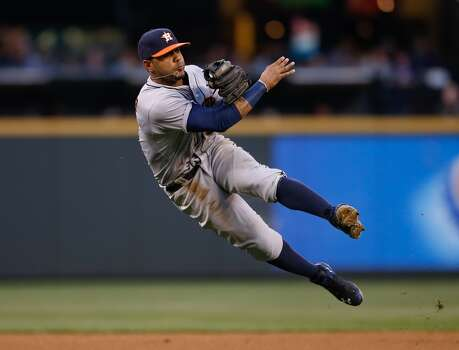 May 23: Mariners 6, Astros 1  Felix Hernandez reminds the Astros of his dominance in a 6-1 win that sent Houston's losing streak to four games.  Record: 17-32. Photo: Otto Greule Jr, Getty Images