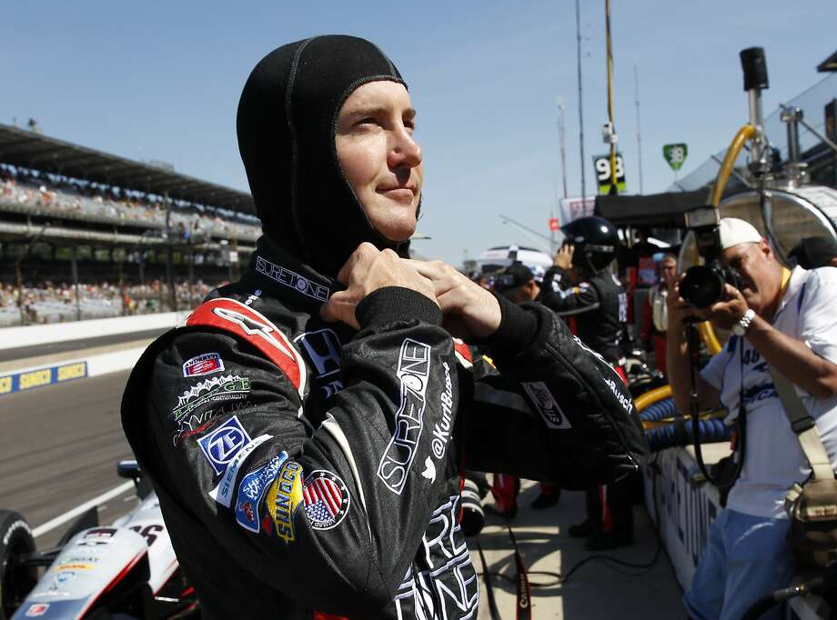 NASCAR driver Kurt Busch will attempt to drive a competitive 1,100 miles Sunday - the first 500 at the Indianapolis Motor Speedway, the next 600 at Charlotte Motor Speedway. Photo: Tom Strattman, Associated Press