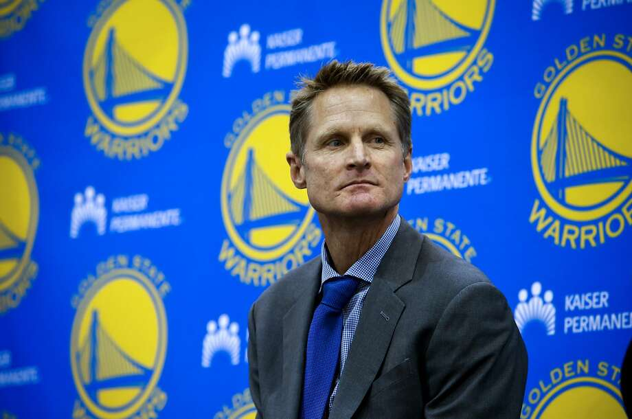Steve Kerr will be influenced by coaches Phil Jackson and Gregg Popovich. Photo: Michael Macor, The Chronicle
