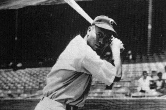 The Negro Leagues' demise began in part when players like the Newark Eagles' Larry Doby, above, followed Jackie Robinson to the majors, hurting its star power.