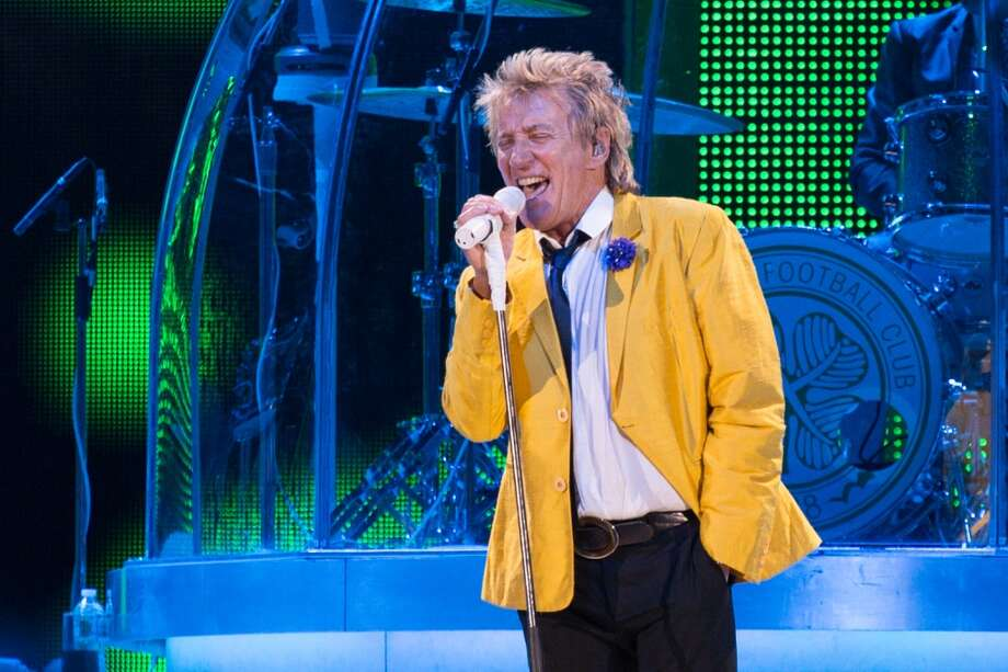 Rod Stewart performs at the Times Union Center on May 23, 2014. Photo: Trudi Shaffer / Times Union