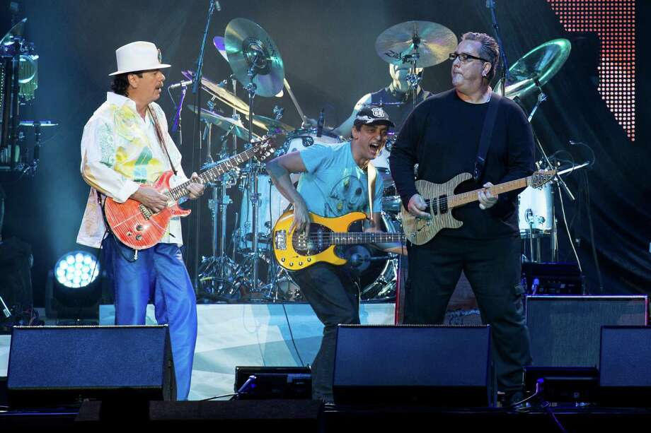 Carlos Santana performs Friday, May 23, 2014, at the Times Union Center in Albany. (Trudi Shaffer/Times Union) Photo: Trudi Hargis