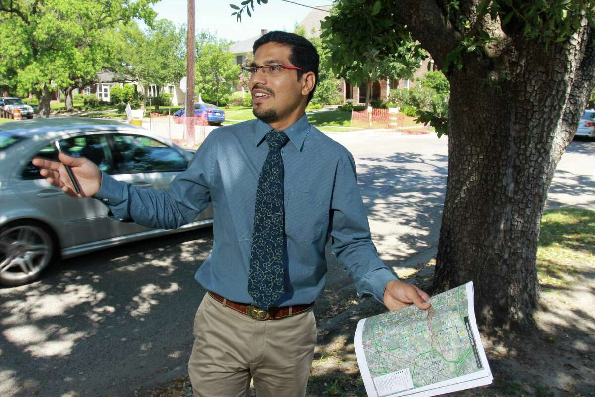 Amar Mohite, city transportation planning coordinator, says Dunlavy