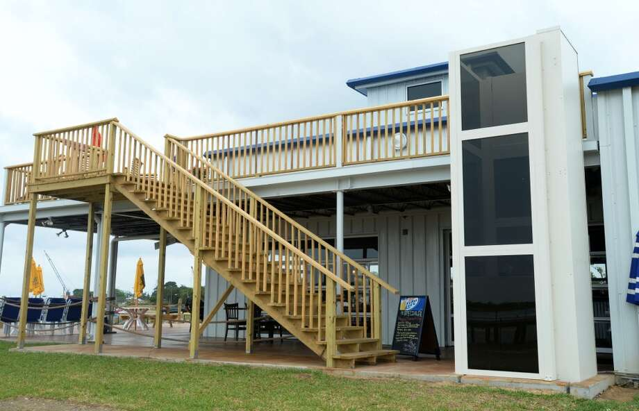 An elevator is offered for guests to reach the balcony at the Neches River Wheelhouse in Port Neches. Photo taken Tuesday, May 13, 2014 Guiseppe Barranco/@spotnewsshooter