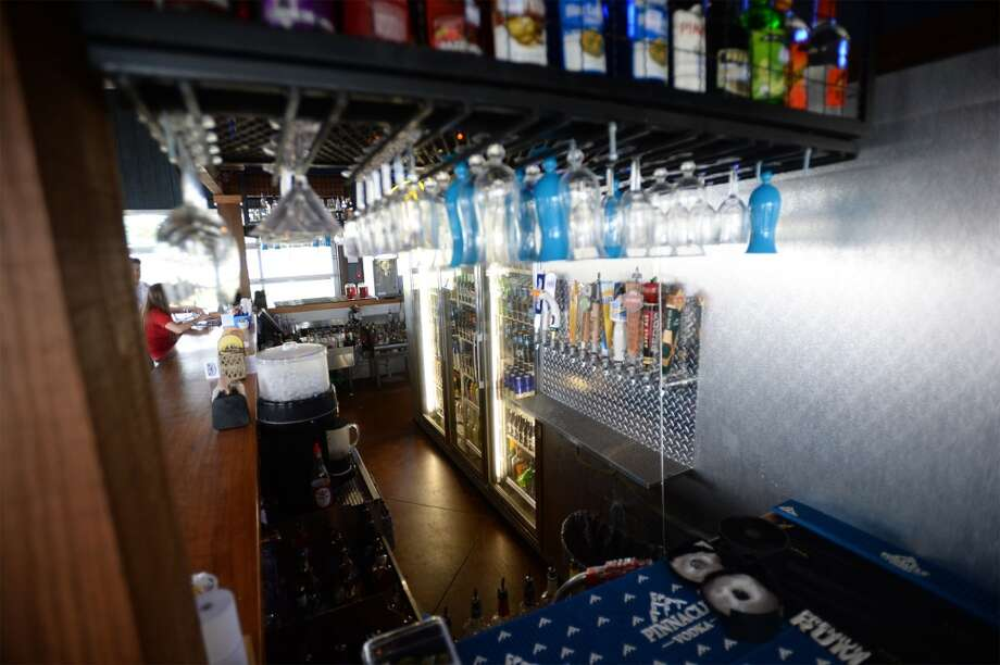The bar at the Neches River Wheelhouse in Port Neches. Photo taken Tuesday, May 13, 2014 Guiseppe Barranco/@spotnewsshooter