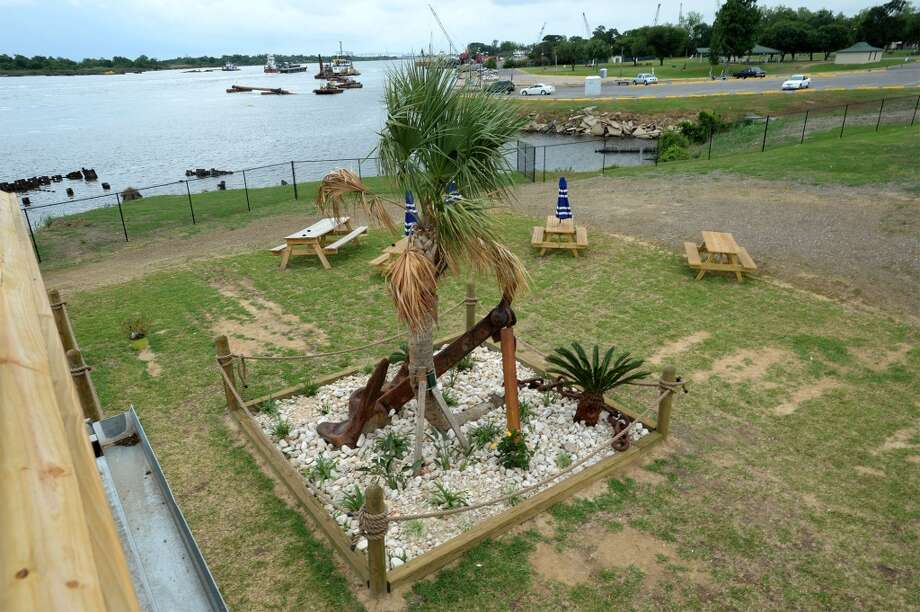View from the balcony at the Neches River Wheelhouse in Port Neches. Photo taken Tuesday, May 13, 2014 Guiseppe Barranco/@spotnewsshooter