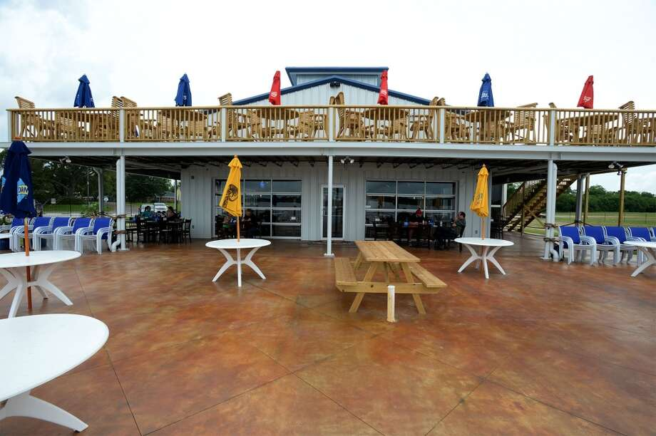 The patio at the Neches River Wheelhouse in Port Neches. Photo taken Tuesday, May 13, 2014 Guiseppe Barranco/@spotnewsshooter