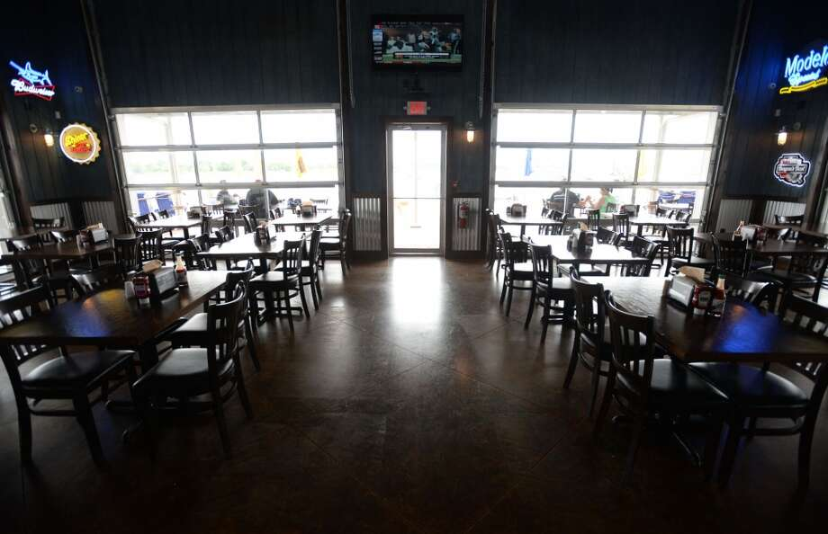 The dining area at the Neches River Wheelhouse in Port Neches. Photo taken Tuesday, May 13, 2014 Guiseppe Barranco/@spotnewsshooter