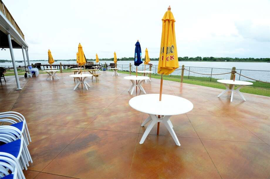 The back patio at the Neches River Wheelhouse in Port Neches. Photo taken Tuesday, May 13, 2014 Guiseppe Barranco/@spotnewsshooter