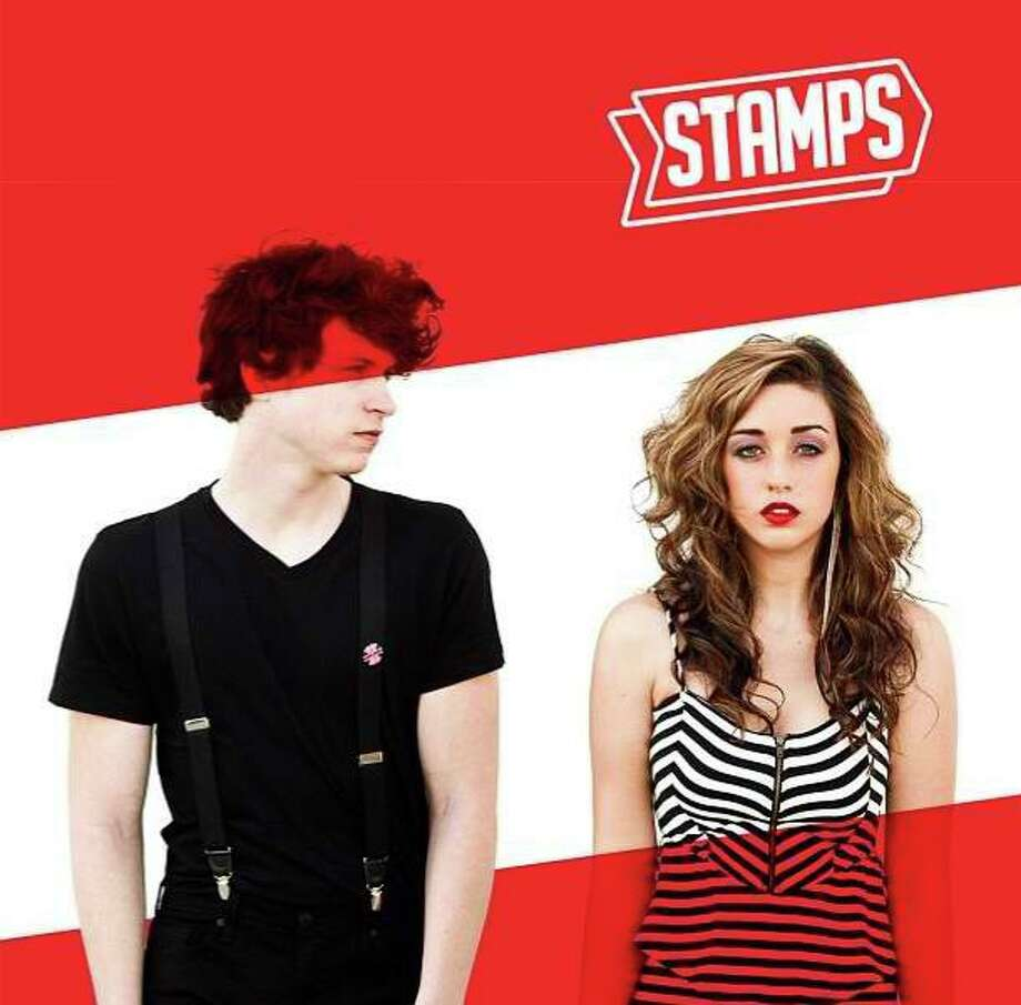 Adam James, left, and Ren Patrick are dance/pop outfit Stamps.