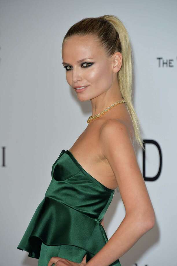 Natasha Poly  attends amfAR's 21st Cinema Against AIDS Gala, Presented By WORLDVIEW, BOLD FILMS, And BVLGARI at the 67th Annual Cannes Film Festival on May 22, 2014 in Cap d'Antibes, France.  (Photo by George Pimentel/WireImage) Photo: George Pimentel, Getty Images  / 2014 George Pimentel