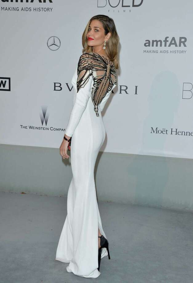 Ana Beatriz Barros attends amfAR's 21st Cinema Against AIDS Gala, Presented By WORLDVIEW, BOLD FILMS, And BVLGARI at the 67th Annual Cannes Film Festivalon May 22, 2014 in Cap d'Antibes, France.  (Photo by George Pimentel/WireImage) Photo: George Pimentel, Getty Images  / 2014 George Pimentel